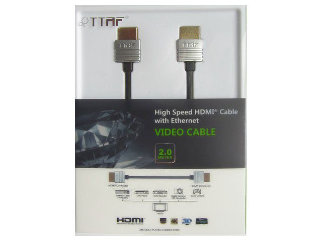 TTAF NANO High Speed HDMI Cable 24K Gold 2m — Фото 3
