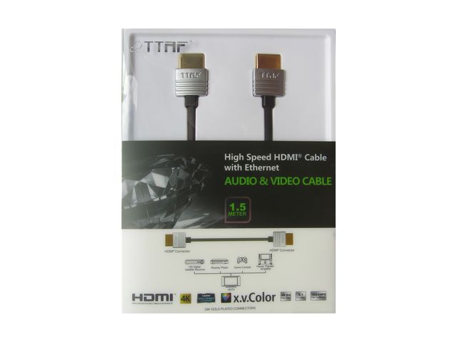 TTAF NANO High Speed HDMI Cable 24K Gold 1.5m — Фото 2