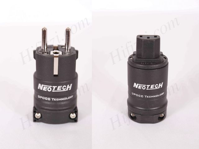 Neotech NC-P312RH OCC Rhodium power plug