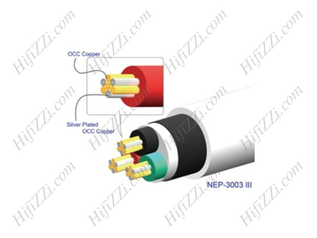Neotech NEP-3003 MK3 3x2.65 OCC/SPUPOCC hybrid power cable — Фото 2