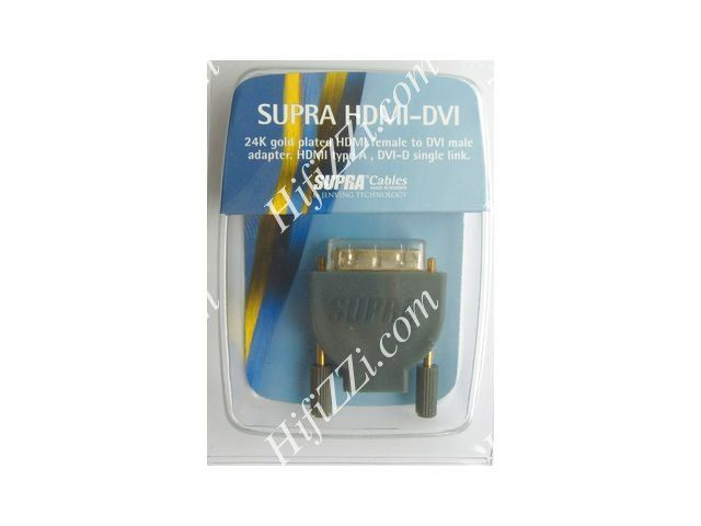 Supra HDMI-DVI adapter