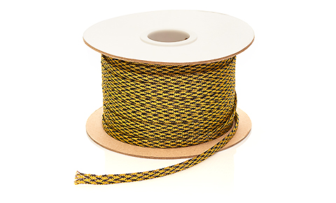 Nylon braid Gold 9mm
