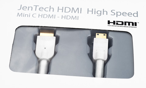 JenTech HDMI A-mini C Cable 1m