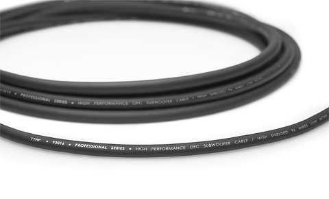 TTAF 93016 Professional Subwoofer OFC cable